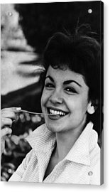 Annette Funicello, 1961 Acrylic Print by Everett