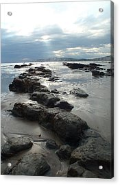 Another Storm Passes  2 Acrylic Print by Mira Cooke