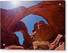 Arches N.p. Acrylic Print by Larry Gohl