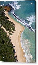 Baldwin Beach Acrylic Print by Ron Dahlquist - Printscapes