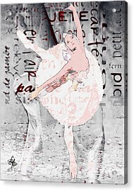 Ballet Acrylic Print by Lynda Payton
