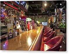 Bar At An American Style Diner Acrylic Print