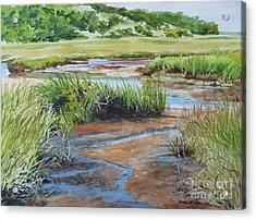 Lowley Marsh Acrylic Print
