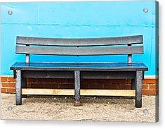 Bench Acrylic Print by Tom Gowanlock