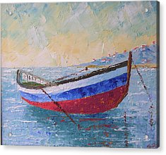 Boat Of Provence  Acrylic Print by Frederic Payet