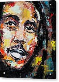 Bob Marley II Acrylic Print by Richard Day