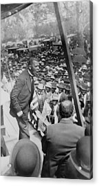 Booker T. Washington 1856-1915 Acrylic Print by Everett