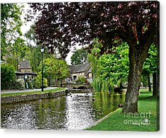 Bourton-on-the-water Acrylic Print