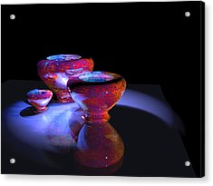 3 Bowls 1 Acrylic Print