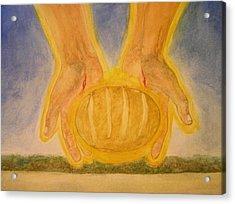 Bread From Heaven Acrylic Print by Nigel Wynter