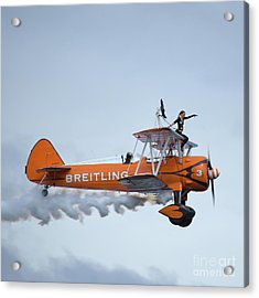 Breitling Wing Walker Acrylic Print
