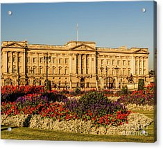 Buckingham Palace, London, Uk. Acrylic Print