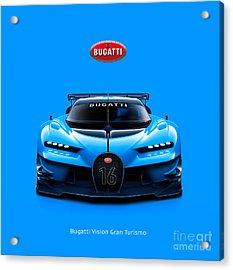 Bugatti Vision Gran Turismo Acrylic Print