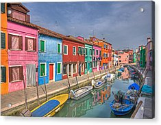 Burano - Venice - Italy Acrylic Print by Joana Kruse