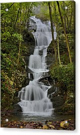 Acrylic Print featuring the photograph Buttermilk Falls by Stephen  Vecchiotti