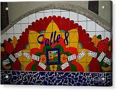 Calle Ocho Cuban Festival Miami Acrylic Print