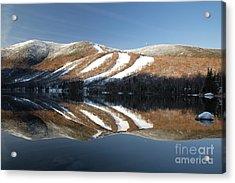 Cannon Mountain - White Mountains New Hampshire Usa Acrylic Print by Erin Paul Donovan