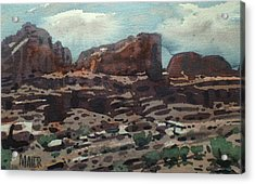 Canyonlands Acrylic Print by Donald Maier