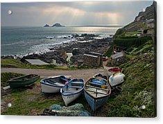 Cape Cornwall Acrylic Print