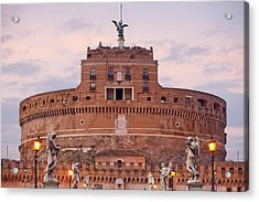 Castel Sant'angelo Acrylic Print by Andre Goncalves