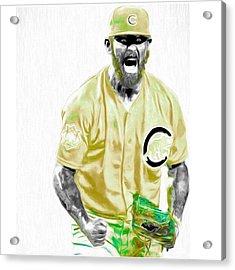 Chicago Cubs Ace Jake Arietta. No No #2 Acrylic Print