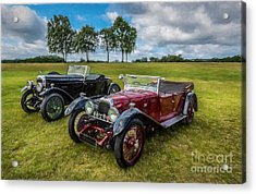 Classic Cars  Acrylic Print by Adrian Evans