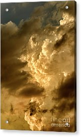 Clouds At Sunset Acrylic Print by Thomas R Fletcher
