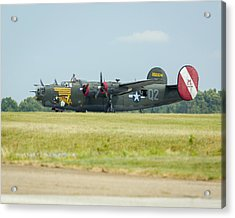 Consolidated B-24j Liberator Acrylic Print