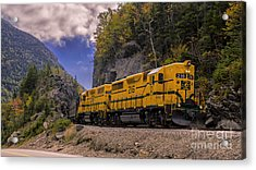 Conway Scenic Railroad Notch Train. Acrylic Print