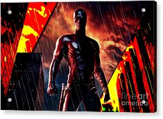 Daredevil Collection Acrylic Print