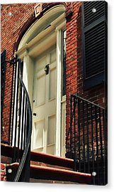 Davenport House Welcome Acrylic Print by JAMART Photography
