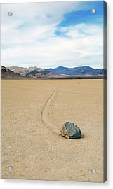 Death Valley Racetrack Acrylic Print