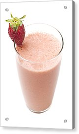Delicious Strawberry Smoothie Acrylic Print