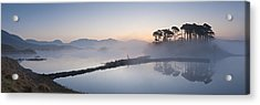 Derryclare Lough At Dawn, Connemara, Ireland Acrylic Print