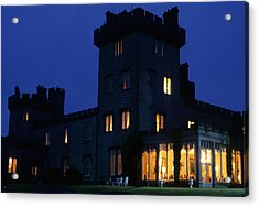 Dromoland Castle At Night Acrylic Print by Carl Purcell