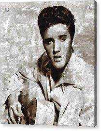 Elvis Presley, Singer Acrylic Print