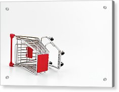Empty Shopping Cart Acrylic Print