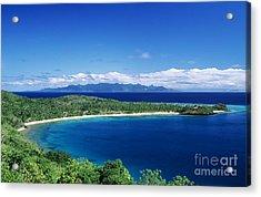 Fiji Wakaya Island Acrylic Print by Larry Dale Gordon - Printscapes