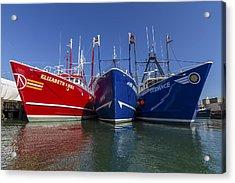 3 Fishing Boats Acrylic Print