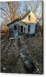 Acrylic Print featuring the photograph Forgotten by Aaron J Groen