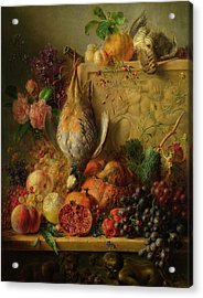 Fruit, Flowers And Game Acrylic Print