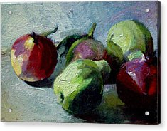 Fruits Acrylic Print by George Siaba