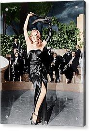 Gilda, Rita Hayworth, 1946 Acrylic Print