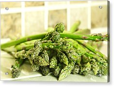 Green Asparagus Acrylic Print