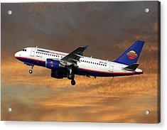Hamburg International Airbus A319-111  Acrylic Print