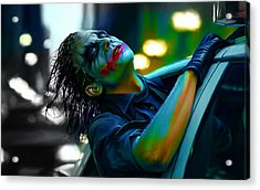 Heath Ledger Acrylic Print