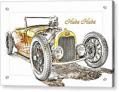 Huba Huba Acrylic Print