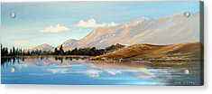 Inagh Valley Reflections Acrylic Print by Cathal O malley