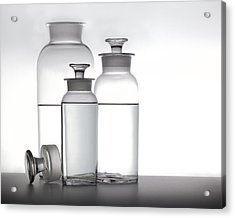 3 Jars Acrylic Print by Mark Wagoner