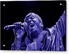 Jimmy Cliff Collection Acrylic Print by Marvin Blaine